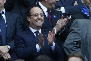 François Hollande peut remercier les Bleus !