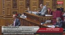 Les matins du Sénat : Orientation des finances publiques (08/07/2016)