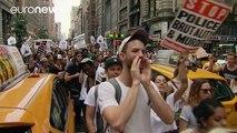 Manifestaciones masivas contra la violencia policial en Estados Unidos
