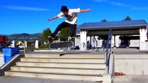 Skateboarding  Best Funny Skateboarding Fails Hurts  FailLand