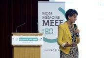 """[ARCHIVE] """"Mon mémoire MEEF en 180 secondes"""" : discours de Najat Vallaud-Belkacem"""