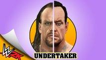 UNDERTAKER from WWF SMACKDOWN to WWE 2K16