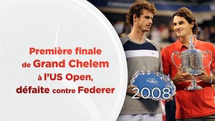 Les grandes dates d'Andy Murray