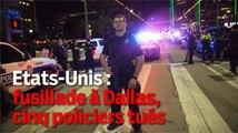 Etats-Unis : cinq policiers tués dans unefusillade à Dallas