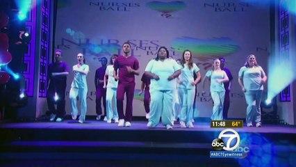 ABC7 05-04-15 Previewing the GH Nurses Ball