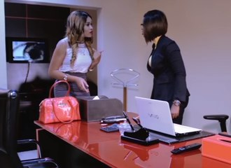 "Babes In Office Confrontation Over Alex Ekubo's Love In "" Don't Fight It "" [4/4]"