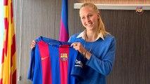 FCB Femenino: Line Røddik Hansen, nueva jugadora del FC Barcelona