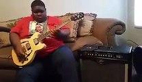 Christone Kingfish Ingram 15 year old prodigy