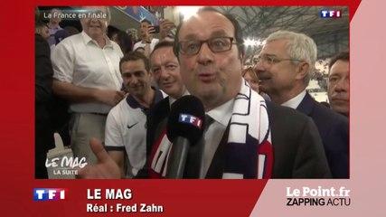 Euro 2016 : « On a fait le plus difficile, mais le plus dur nous attend ! », déclare Hollande - Zapping du 8 juillet