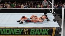 WWE 2K16 kurt angle v stone cold steve austin