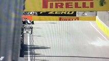 Formel 1 Baku 2016 Perez Unfall