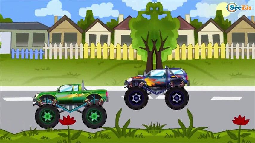 Coches infantiles - Camión de Bomberos - Caricaturas para Bebés - Carritos para niños