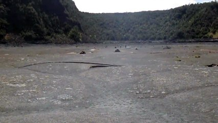 Kilauea Iki Trail - Walking Crate Floor