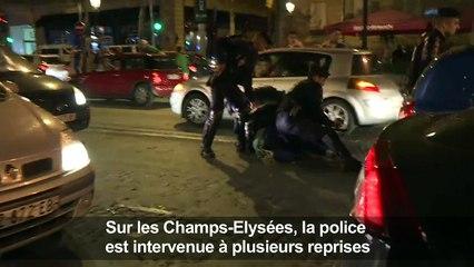 Interpellation sur les Champs-Elysées après France-Allemagne