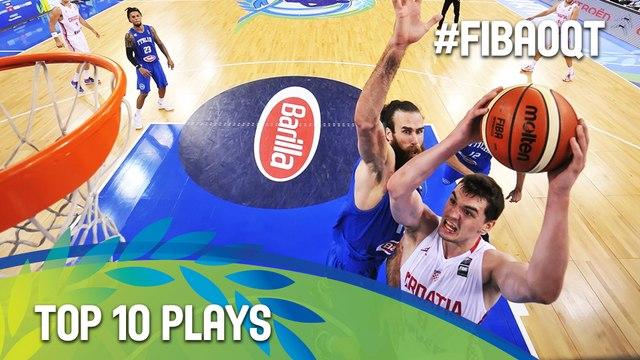 Top 10 Plays - 2016 FIBA Olympic Qualifying Tournament - Turin