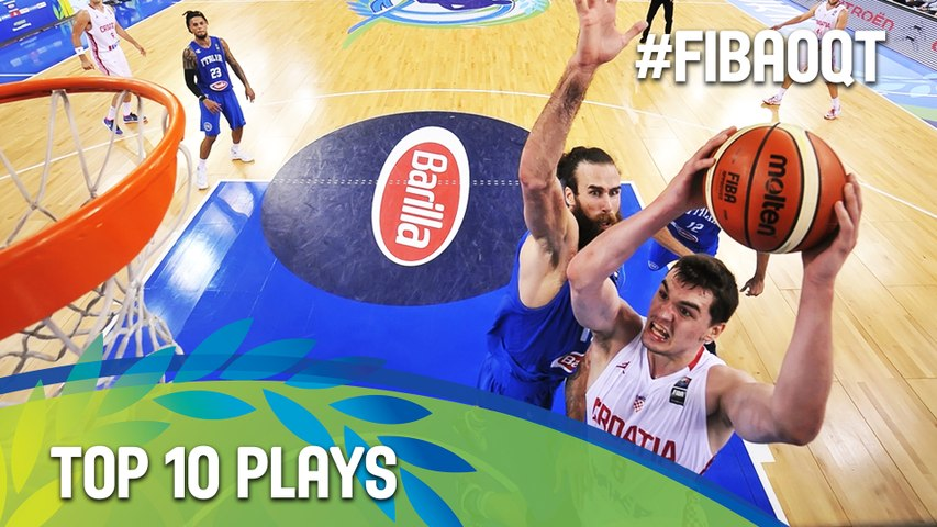 Top 10 Plays - 2016 FIBA Olympic Qualifying Tournament - Turin