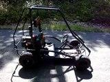 Home Made Go Kart - Go Cart Manco Dingo Go Kart Go Cart - video