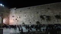 Jerusalem, Wailing Wall, Western Wall, Evening time
