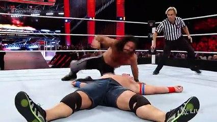 John Cena vs. Seth Rollins_ Raw, June 27, 2016