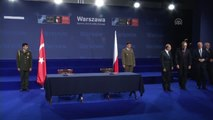 Milli Savunma Bakanı Işık ile Polonya Savunma Bakanı Macierewicz Arasında İşbirliği Anlaşması...