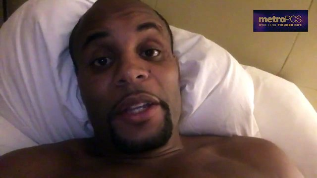 Daniel Cormier reacts to his new fight partner Anderson Silva ufc 2016