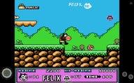 DENDY NES FAMICOM ♥ LETSPLAY GAMEPLAY WALKTHROUGH NO COMMENTARY ♥ FELIX THE CAT ● 1992