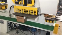 Q35Y-20 120ton hydraulic iron workers ironworker punch and shears steel punching and shear