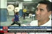 Perú organizará Mundial Sub 17 de Levantamiento de Pesas