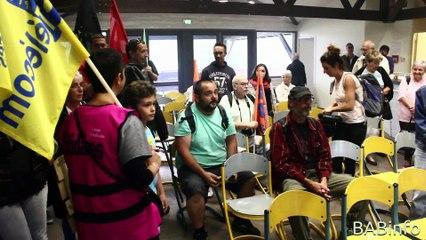 Le Collectif contre la Loi Travail empêche la tenue de l'Université d'été du PS 64