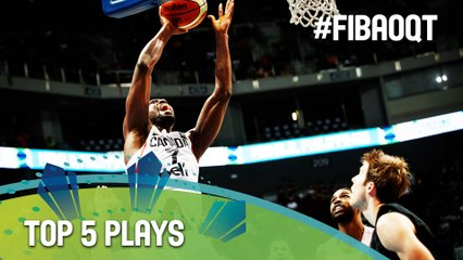 Top 5 Plays - Day 4 - 2016 FIBA Olympic Qualifying Tournament - Philippines