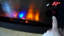 Blyss Montella Electric Fire. Kominek elektryczny Blyss Montella