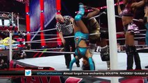 Brie Bella, Naomi and Natalya v.s Layla, Aksana and Alicia Fox