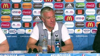 """Euro-2016/France - Deschamps: """"Être décontracté et concentré"""""""