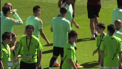 Euro-2016/Portugal : Pepe s'entraîne à la veille de la finale