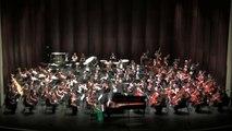 UNC Symphony Orchestra - Barber Piano Concerto: Mvt. 2