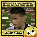 Entrevista James Rodriguez tras el partido con Paraguay (parodia)