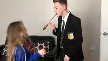 Hilarious Twist On Wooden Spoon Prank Video Dailymotion