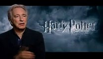 Alan Rickman - Interview about Harry Potter and The Deathly Hallows Part 2 - Severus Snape