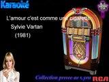 """Karaoké Sylvie Vartan """"L'amour c'est comme une cigarette"""""""