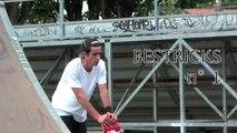 Bestricks n°1 Trilpe flip back   Skateboard Clermont-Ferrand