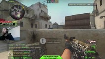 Crazy 2V5 Clutch last round for the Tie - Counter-Strike_ Global Offensive