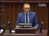 Poseł Artur Soboń - Wystąpienie z dnia 22 czerwca 2016 roku.