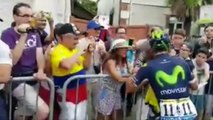 Tour de France 2016 - La Team Movistar de Nairo Quintana sur ses terres en Espagne