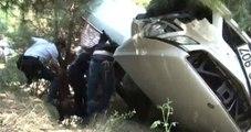 Trafik Kazasında Ölen Kızının Mezarını Ziyarete Gitti, Trafik Kazası Ge�