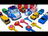 웃어요 폴리!!!! 로보카폴리 또봇 미니특공대 슈팅카 파워레인저 트레인포스 타요 장난감 Робокар Поли Robocar Poli Car Toys