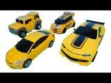 Transformers Bumblebee Rc Car & Tobot Miniforce Hello carbot Robot Yellow Car Toys 트랜스포머범블비 또봇 미니특공대