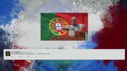 Les réseaux sociaux s'enflamment sur la finale France-Portugal !
