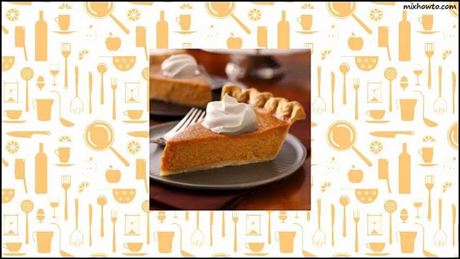 Recipe New-Fashioned Pumpkin Pie Recipe