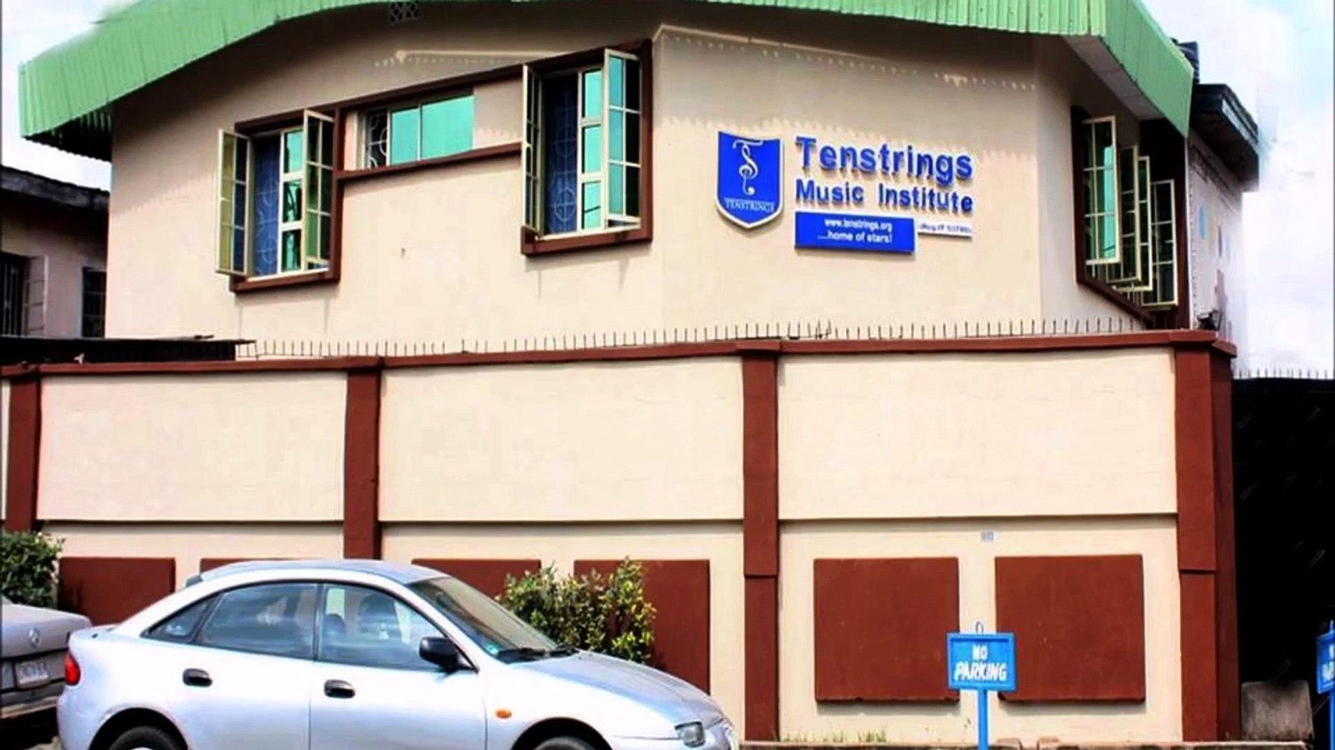 Inside of Tenstrings Music Institute, Lagos, Nigeria