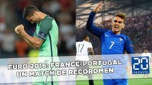 Euro 2016: France-Portugal, un match de recordmen